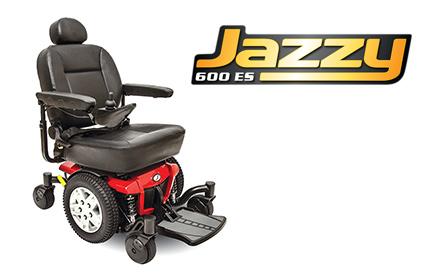 Escondido pride Jazzy electric motorized wheelchair