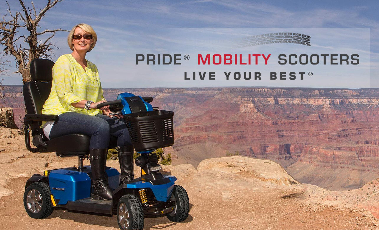 phoenix az showroom store company Pride® Mobility THREE and FOUR Wheeled Scooters