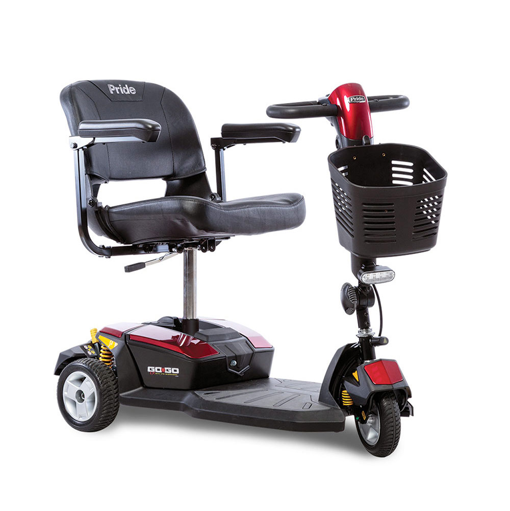 go-go Chandler lx pride mobility three wheel elderly handicapped scooter