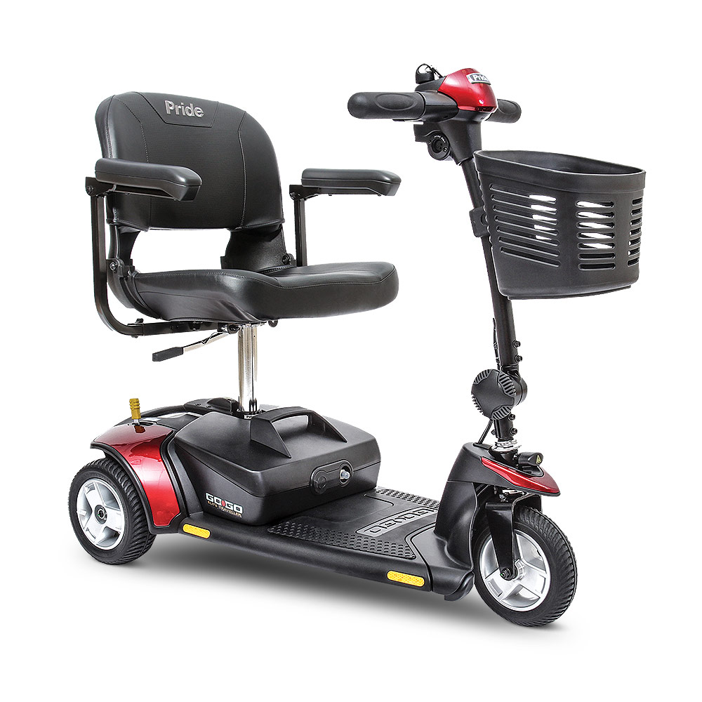 gogo 3-wheel scooter