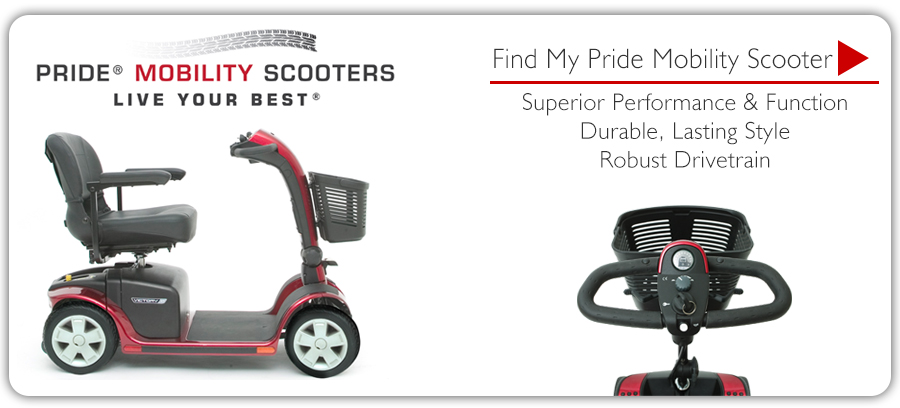 Pride Scooters - Find My Scooter