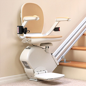 San Francisco Ca. stairway staircase stairchair are senior chairlift and elderly stair lift